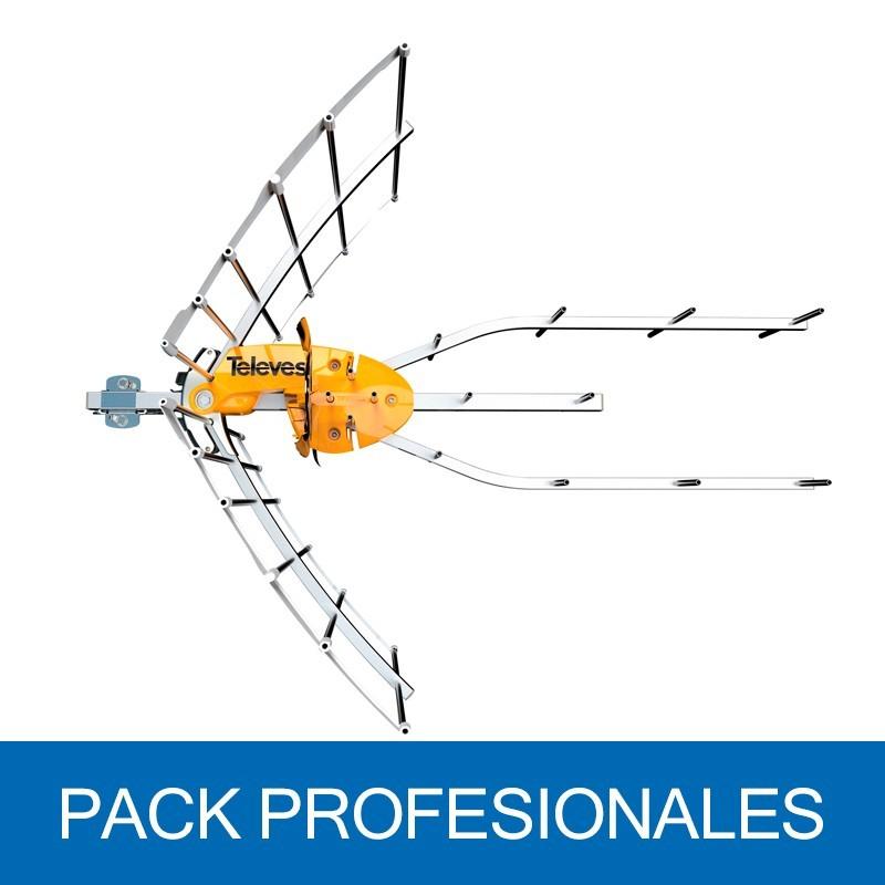 Antena Terrestre ELLIPSE UHF C21-48, G 38dB BOSS ON. Embalaje colectivo 8U. 148922