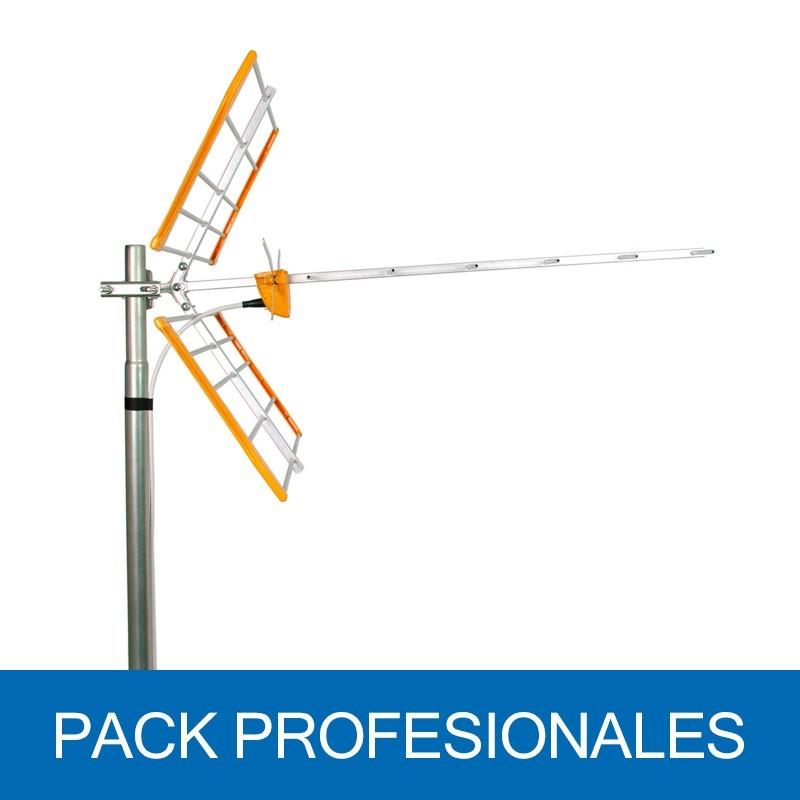 Antena Terrestre L 700 UHF C21-48, G 13dB, 18 elementos. Embalaje colectivo 6U. 112120
