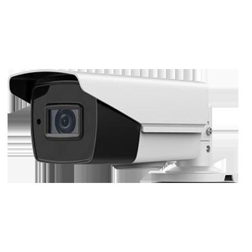 Cámara bullet 4 en 1, 5Mpx, 2.8-12mm motorizada, IR 40mts. IP67, blanca.
