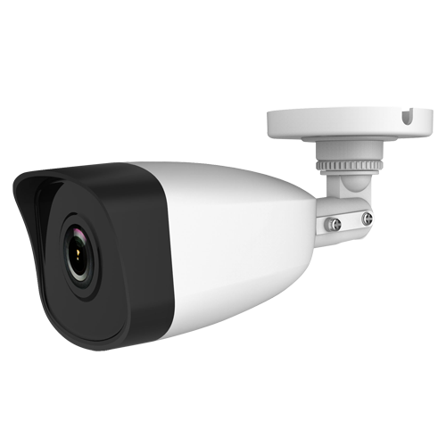 Cámara IP bullet, 4MPx, IR 30mts, 2.8mm, H.265+, PoE802.3af. IP67