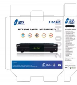 Decodificador Iris 2100 HD
