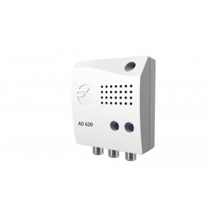 Amplificador de Interior 5G, VHF/ UHF 20dB/22dB, 105 dBuV. 2 salidas