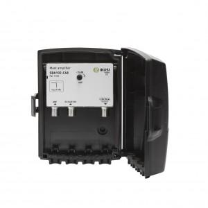 Amplificador de mástil 2 Entradas. 1x UHF 1xDAB/BIII, 36dB, 105dBuV