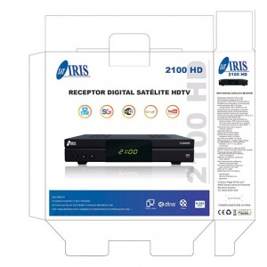 Decodificador Iris 2100 HD